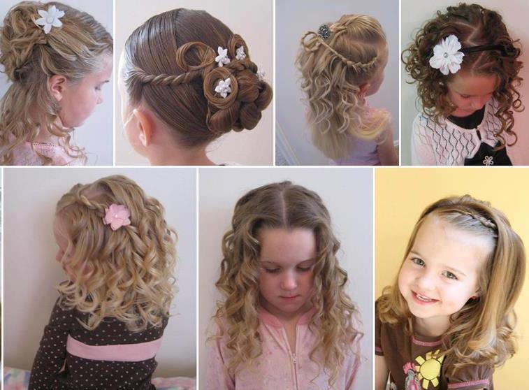 penteados com elásticos coloridos