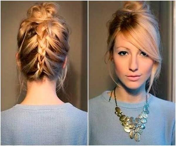 penteados para cabelos curtos passo a passo para fazer sozinha