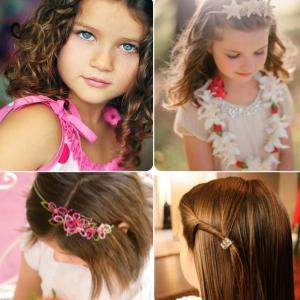 Penteados para Cabelos de Crianças