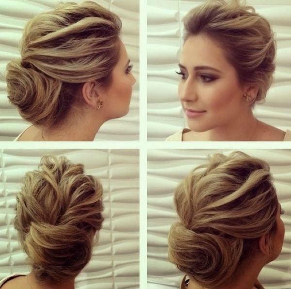 penteados para madrinhas cabelo solto
