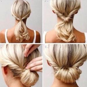 Penteados simples e fáceis de fazer sozinha