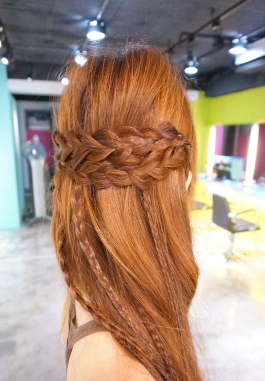 cabelo solto liso