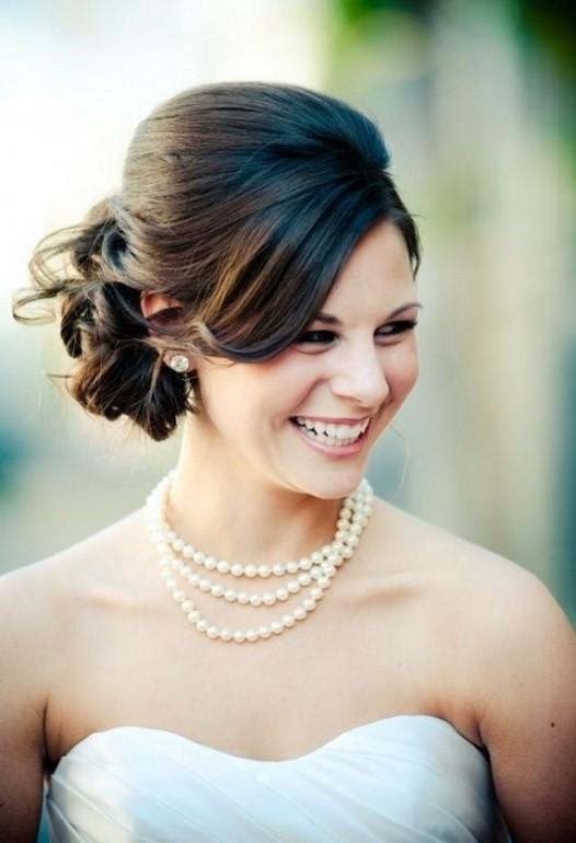 para noivas cabelo médio