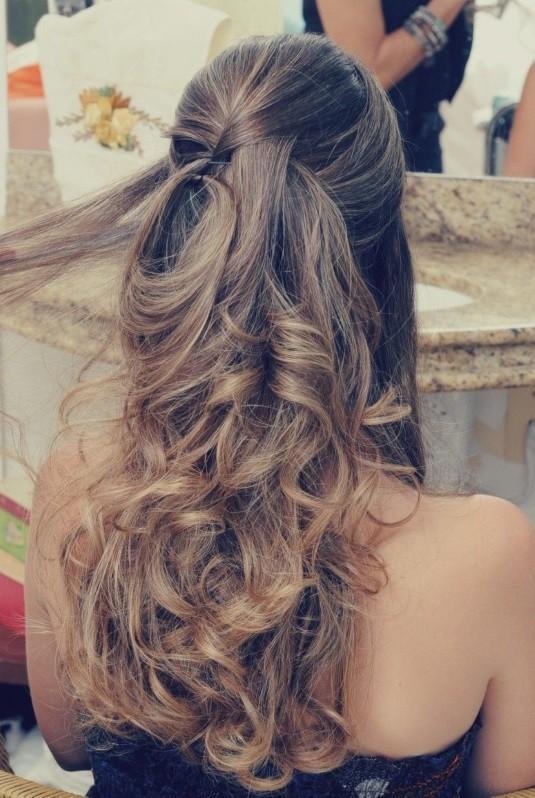 penteado cabelo longo festa