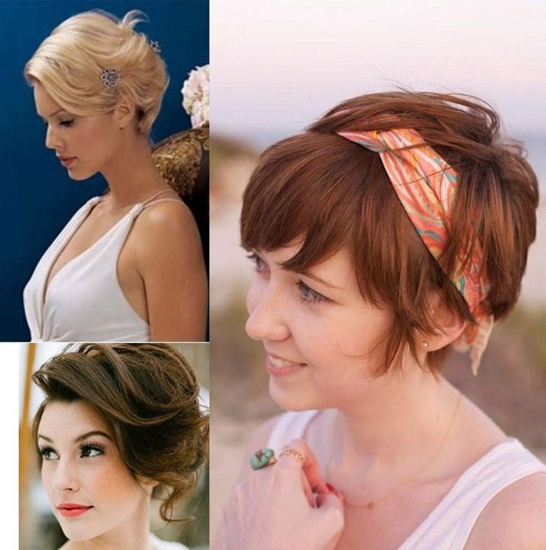 penteados para cabelos curtos e lisos
